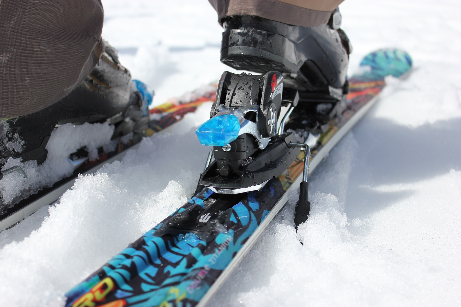 Hvordan står man på ski