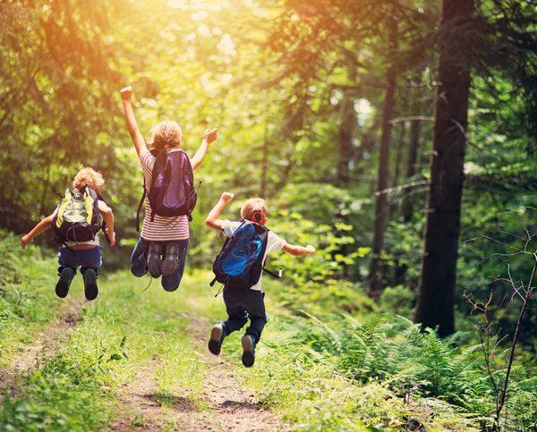 Bli glad i utendørsaktiviteter!